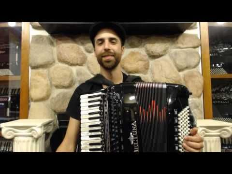 How to Play a 96 Bass Accordion - Lesson 1 - Klezmer