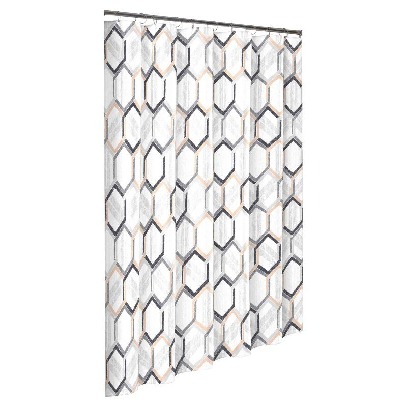 Vue Hexagonal Shower Curtain By Vue Shower Curtain Shower