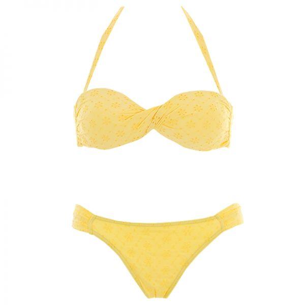 Officiel Pas Cher Maillots de bain Kiwi saint-tropez jaunes femme La Vente En Ligne Officielle v6WH7RkXV
