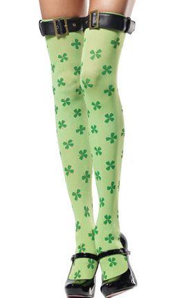 7a7e78936bf6e totally wear on st patricks day. sexy leprechaun stockings. sexy leprechaun  stockings Leprechaun Fancy Dress ...