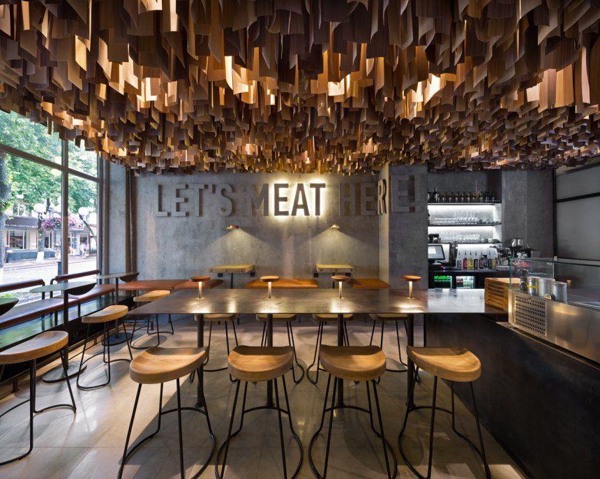 restaurant floor plan design archdaily ideas pdf simple modern
