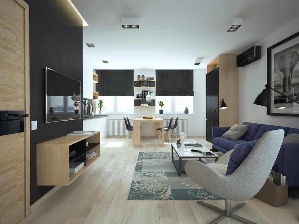 5 apartment designs under 500 square feet my favourite - 500 square feet room ...