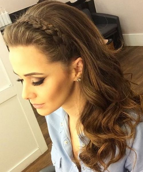 Spectacular Rope Headband Long Layered Hairstyles 2018 For Women