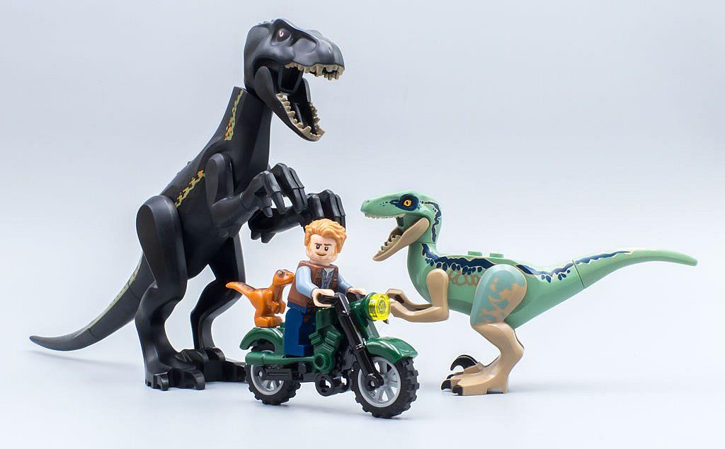 Raptor aus Set 75929 75930 Dinosaurier Neu Lego Jurassic World Baby Dino