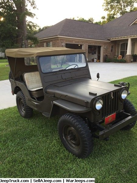 1952 Willys M 38 Military Restoration Military Jeep Willys Jeep