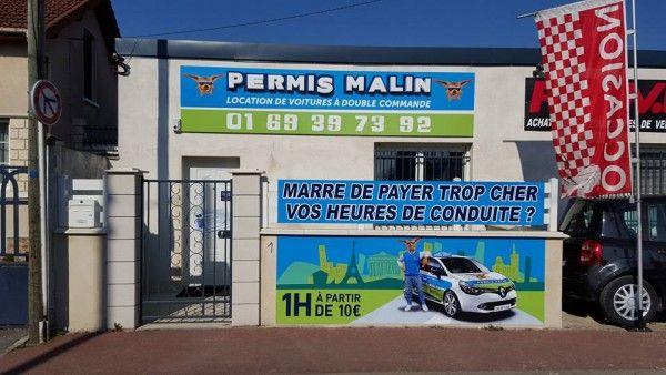 Permis Malin Juvisy-Sur-Orge / Athis-Mons : Location de véhicules double commande 19 Avenue Gabriel Peri 91260 Juvisy Sur Orge    01.69.39.73.92