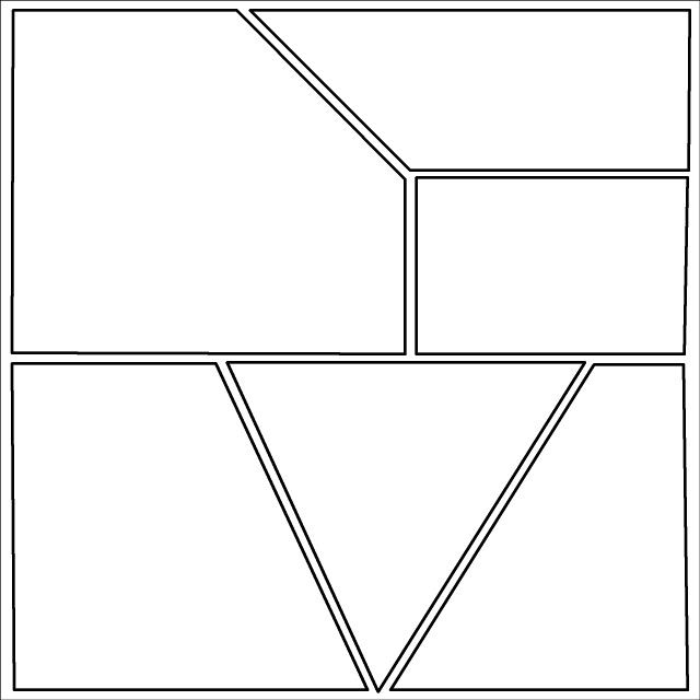 This is a blank graphic novel comic book template that can be – Comic Template