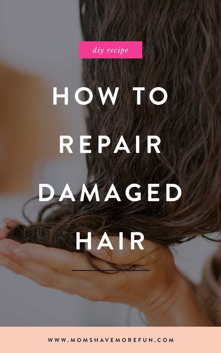 My hair was fried! But I rescued it even after way too much bleaching and heat styling. Repair your hair with these easy steps. #haircare #damagedhair #homebeauty #diy #momhacks #hairhacks