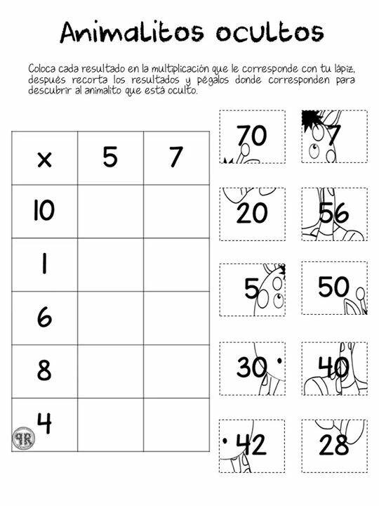Pin von Ivana Kolaric auf škola | Pinterest | Multiplikation, Mathe ...