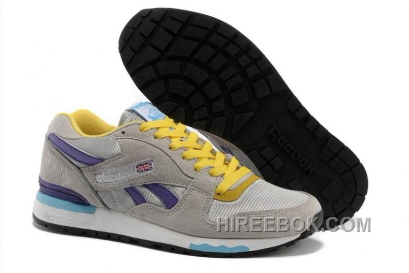 e3243fb17fd Buy Reebok Mens Classic Running Grey Yellow Purple Undefined from Reliable Reebok  Mens Classic Running Grey Yellow Purple Undefined suppliers.
