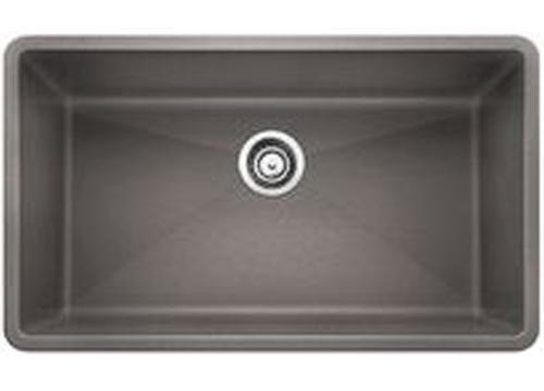Blanco Precis 32 Undermount Single Bowl Granite Composite Sink In Silgranit Puradur Composite Kitchen Sinks Sink Granite Composite Sinks