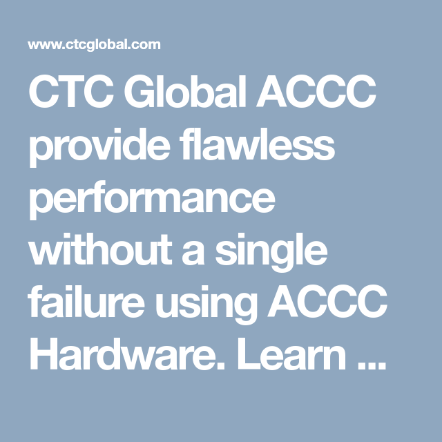 Accc Hardware Components Ensure Execution Longevity Hardware Components Hardware Global