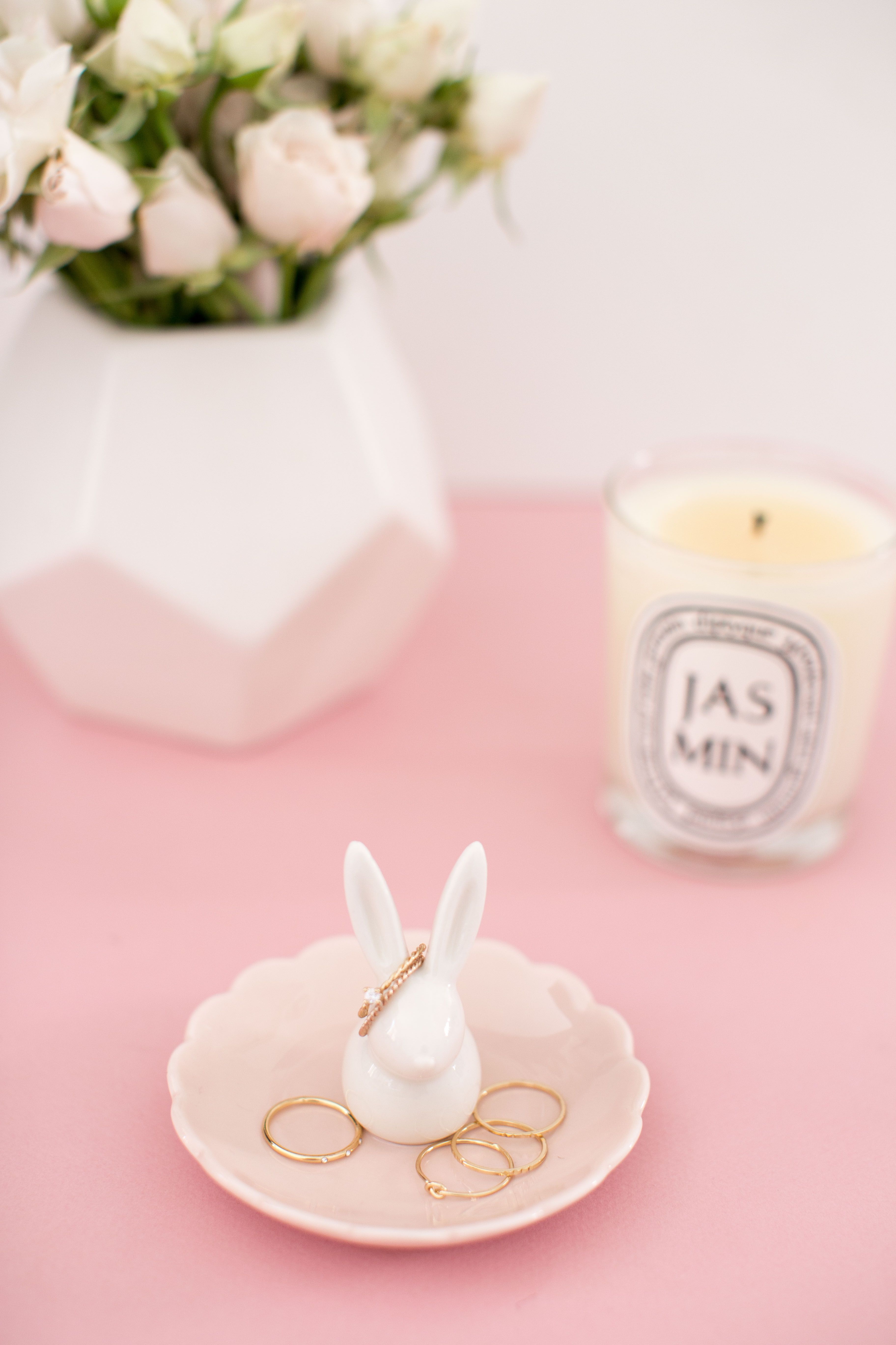 LC Lauren Conrad for Kohl\'s Bunny Ring Holder | My name is Gift ...
