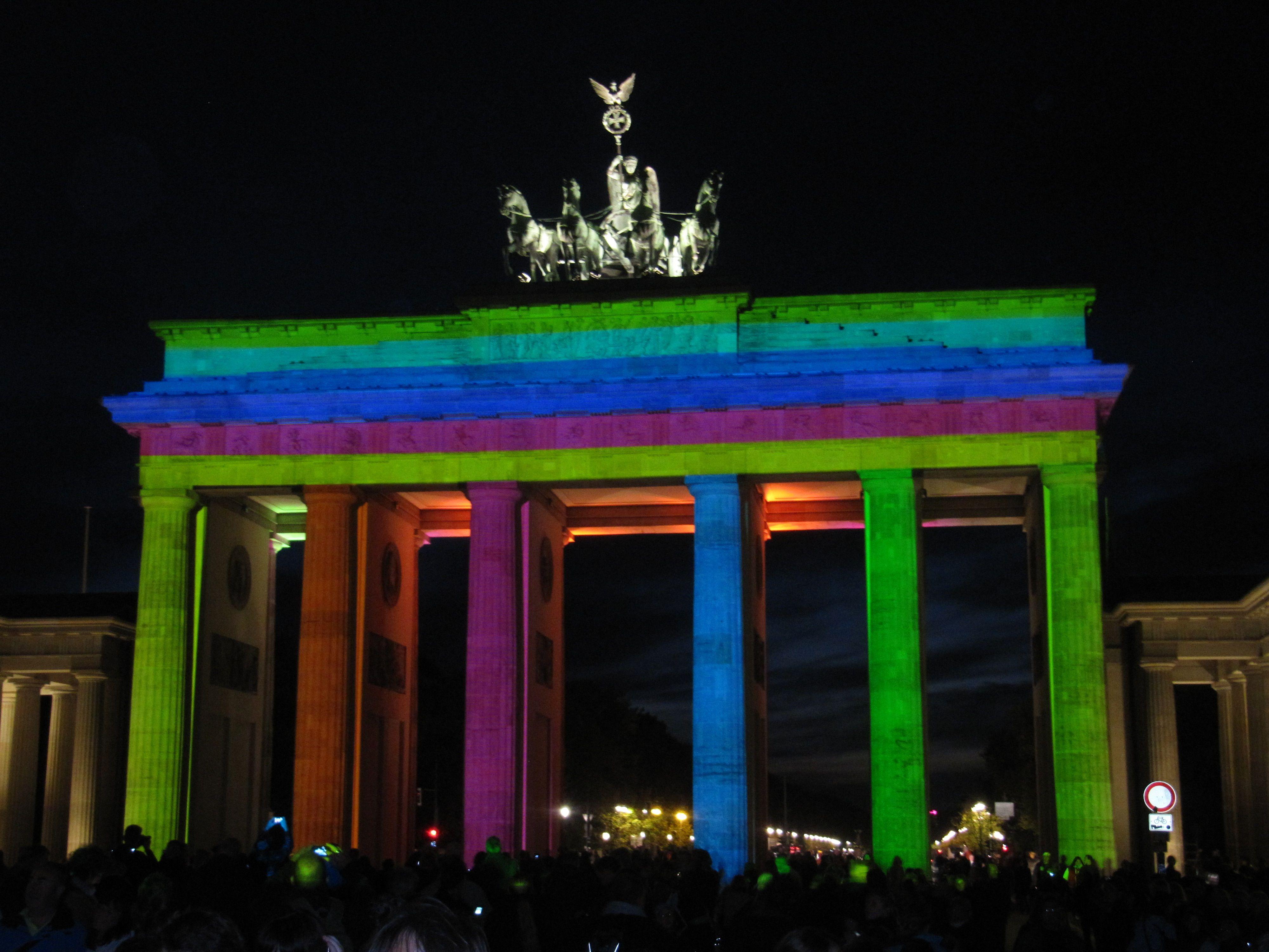 Festival Of Lights In Berlin Berlin