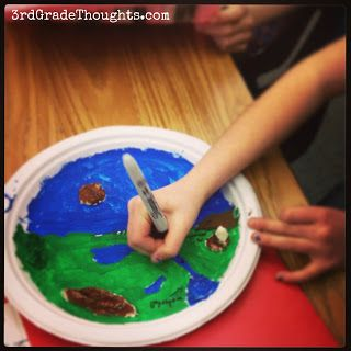 Making Landforms & Using the 7 Habits - 3rd Grade Thoughts