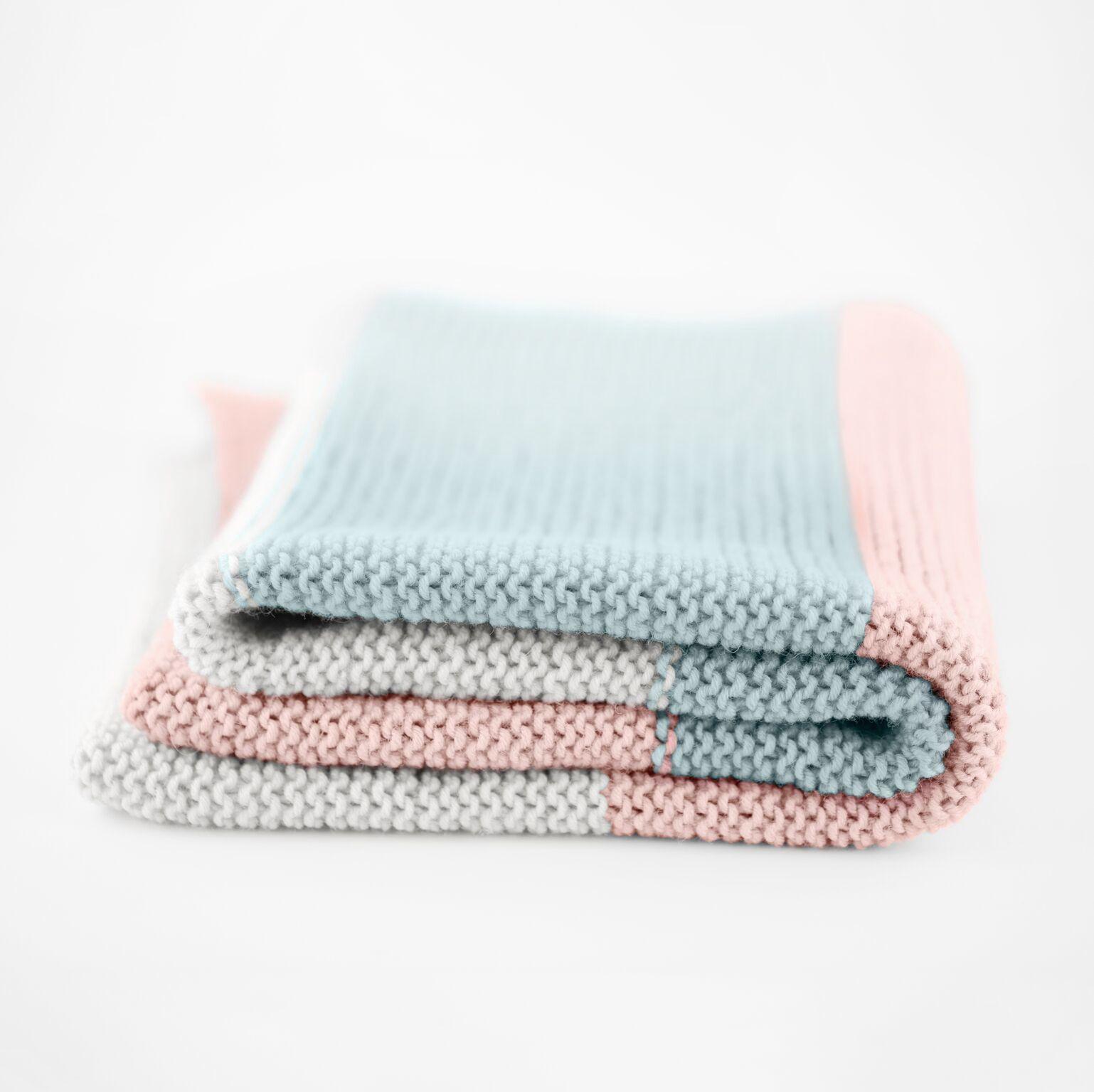 Hello New Simple Baby Blanket Knit Kit | Knitting kits ...