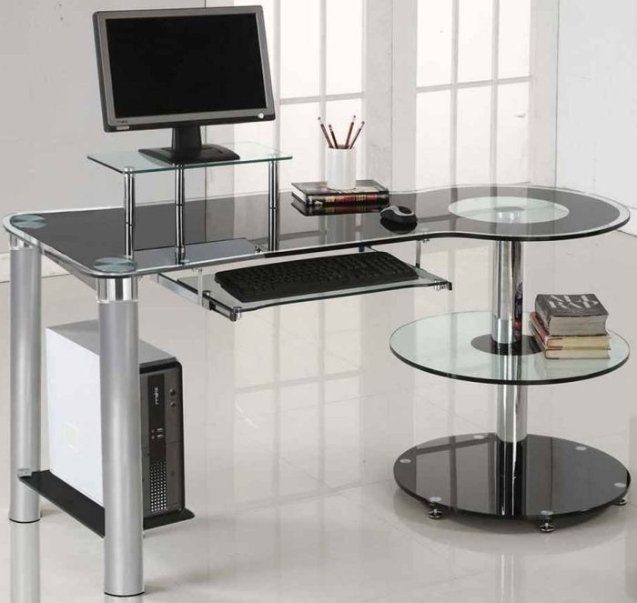 Innovex Orbit Desk Contemporary Home Office Furniture Modern Home Office Furniture Desks For Small Spaces