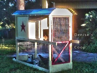 4/' x 6/' Chicken Coop Plans Material List Included #90406G Gable Roof Style