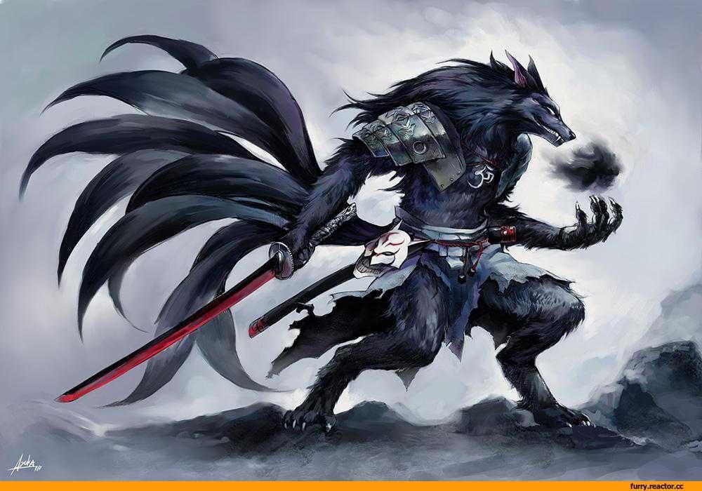 нашем каталоге картинка волк с мечом первую
