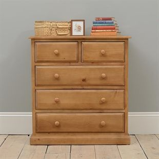 Natural Solid Wood Chests Of Drawers In Oak Pine Painted Styles