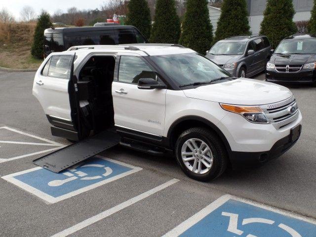 2015 Ford Explorer Wheelchair Van For Sale Braunability Mxv