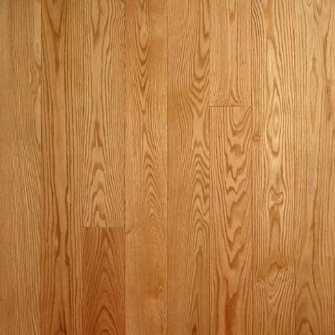 This Unfinished Solid Red Oak Flooring Is 3 8 Inch Thick And 1 2