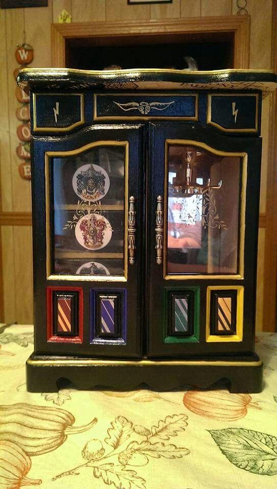 Beautiful handmade HP jewellery box Harry Potter Pinterest