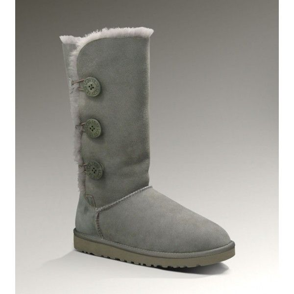 3c18cf74b33 UGGS Clearance 1873 Grey Bailey Button Triple Boots will accompany ...