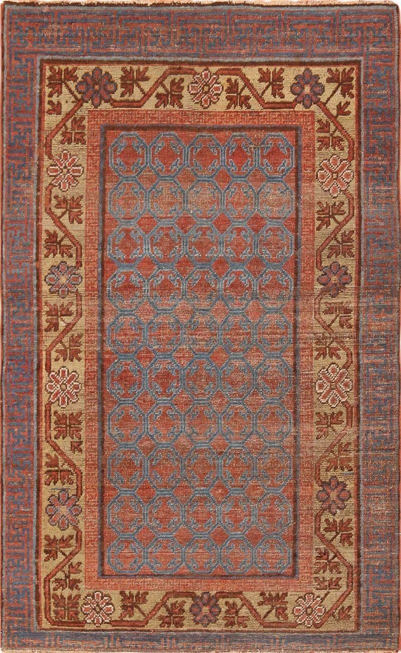 Small Antique Khotan Rug From East Turkestan 49967 Nazmiyal Khotan Rugs Antique Persian Carpet Rugs