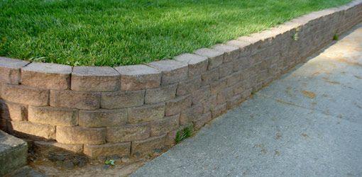 Diy Retaining Wall Garden Retaining Wall Landscaping Retaining Walls Building A Retaining Wall