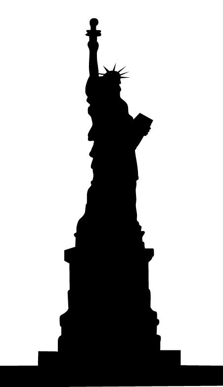 statue of liberty silhouette head statue of liberty vector statue rh pinterest com statue of liberty vector art free statue of liberty vector free