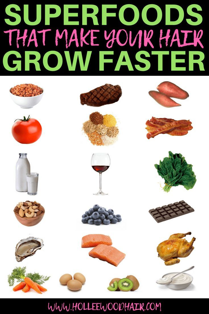 19 Super Foods That Make Your Hair Grow Faster・2020