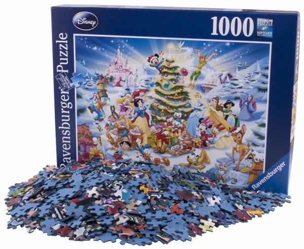 pictures of jigsaw puzzles Jigsaw Puzzles Disney Christmas Eve