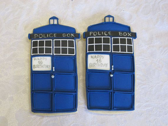 Doctor Who Sugar Cookie Collection by MartaIngros