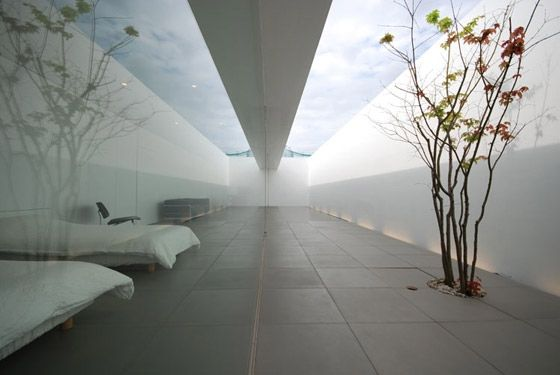 Arquitecturas silenciosas: Minimalist house. 2010. Shinichi Ogawa & Associate...