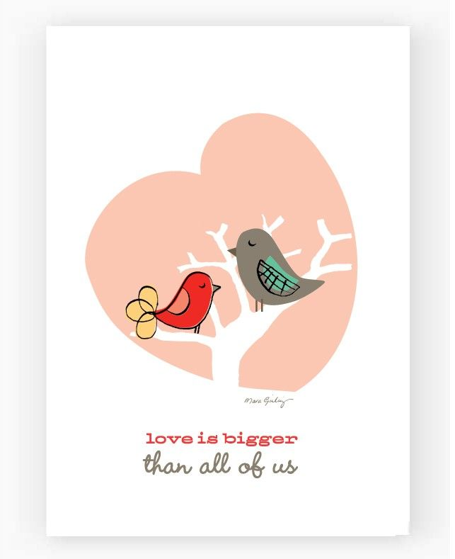 Love Is Bigger than all of us