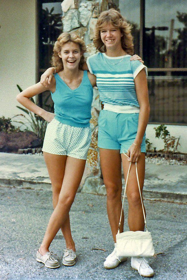 Photo of Moda jovem dos anos 80: fotos coloridas de adolescentes norte-americanas nos anos 80