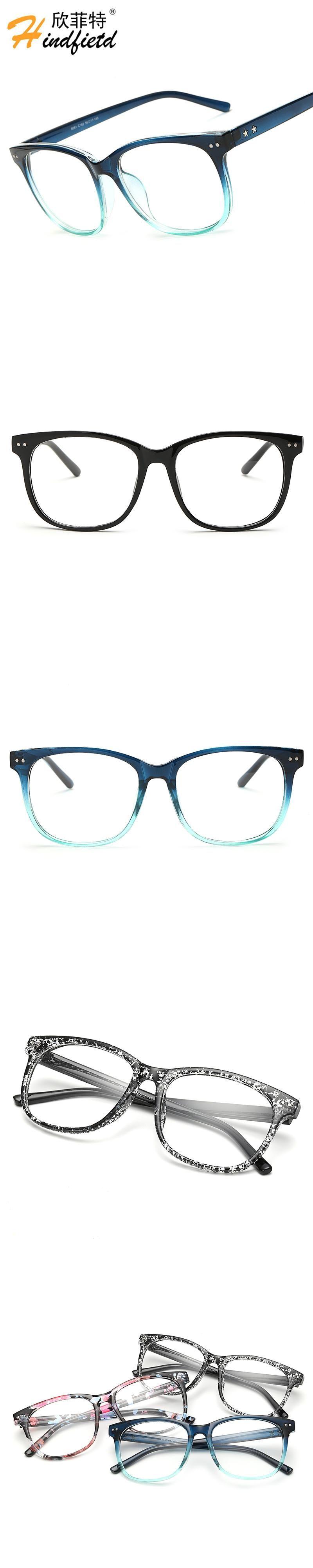 Hindfield Plain Glass Spectacles Vintage Eyeglasses Women Men Sports ...