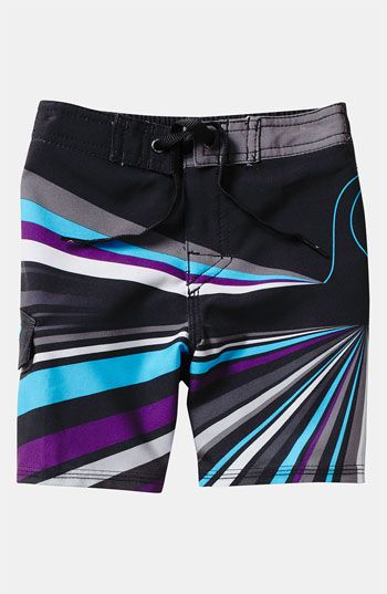 f036673988 Quiksilver 'Combat Drop' Board Shorts (Toddler) | Nordstrom | Cole ...