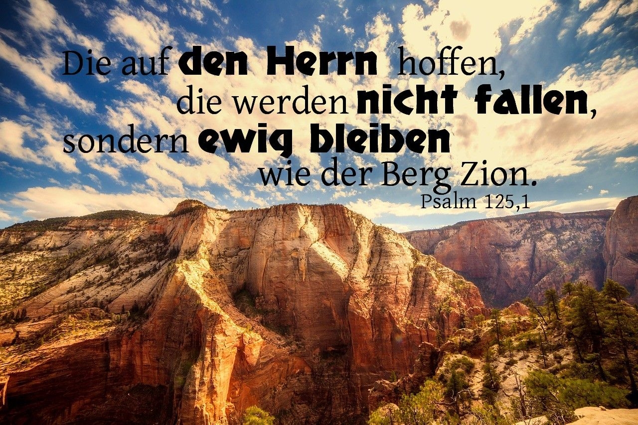 Psalm Zitate