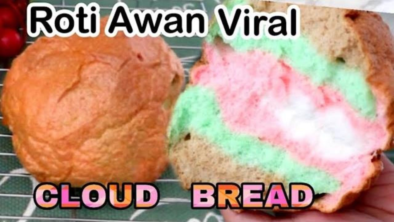 Cloud Bread Viral Resep Roti Awan Youtube Di 2020 Resep Roti Cloud Bread Roti