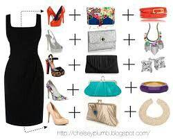 Complementos para vestido negro