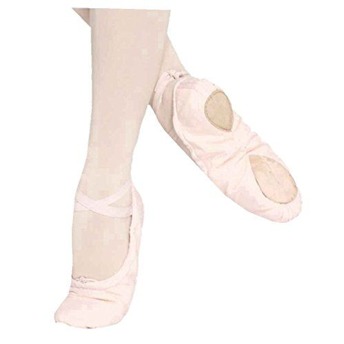 Slippers Dance Shoes Shoes Soft Kids Pink Ballroom Ballet Dance Pointe Fitness