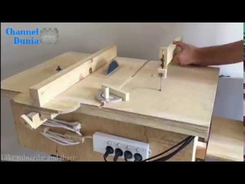 Alat pemotong kayu serbaguna youtube mesin kayu for Planos de carpinteria