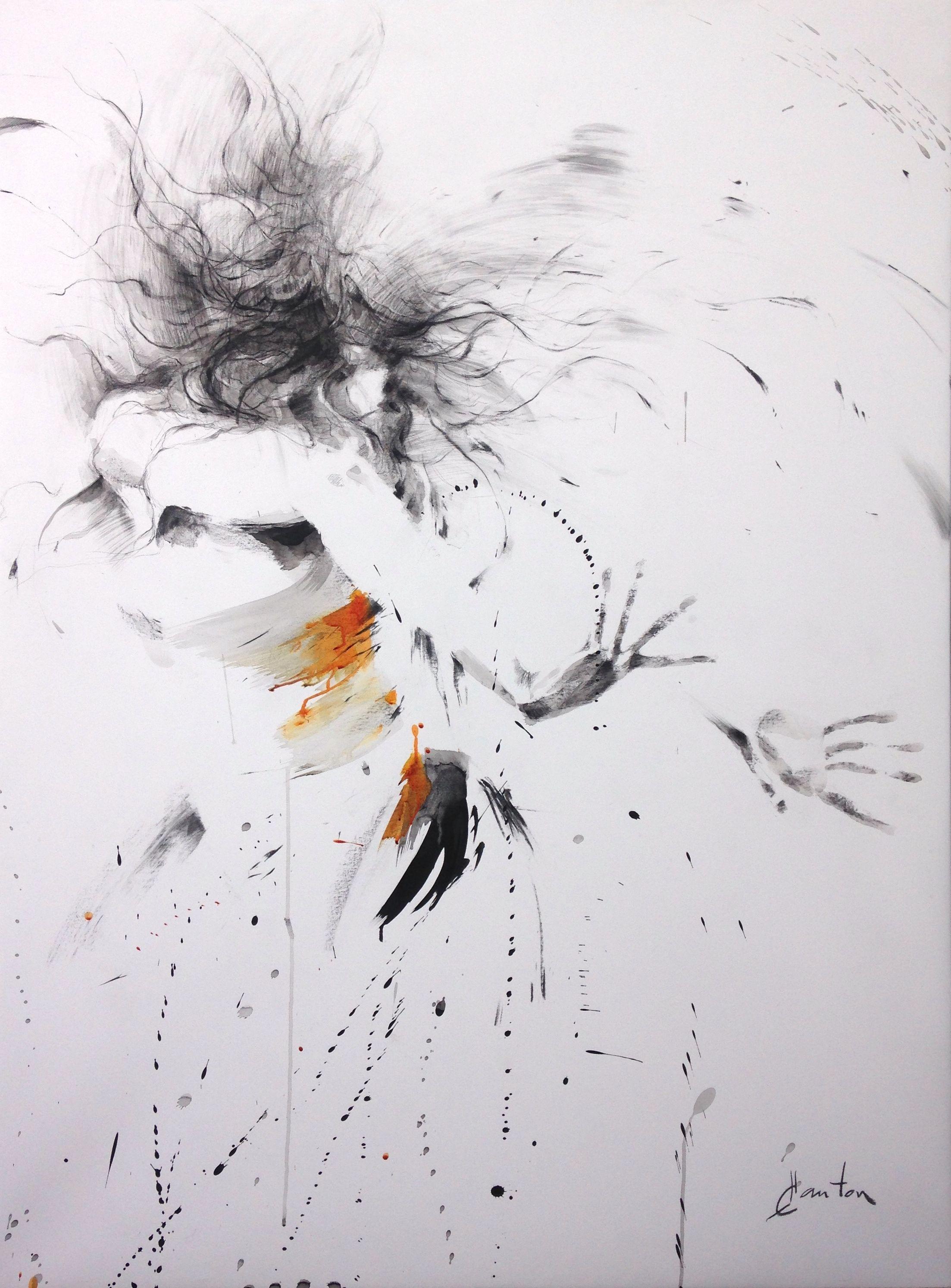 Muriel Buthier Chartrain Aquarelle Peindre Des Nuages Et Buthiers