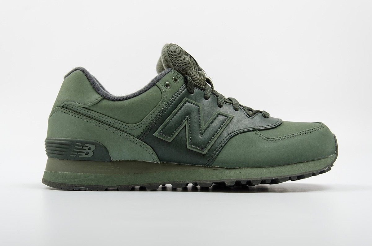 New Balance 574 Chroma Military Green | Military green, Military and  Emeralds