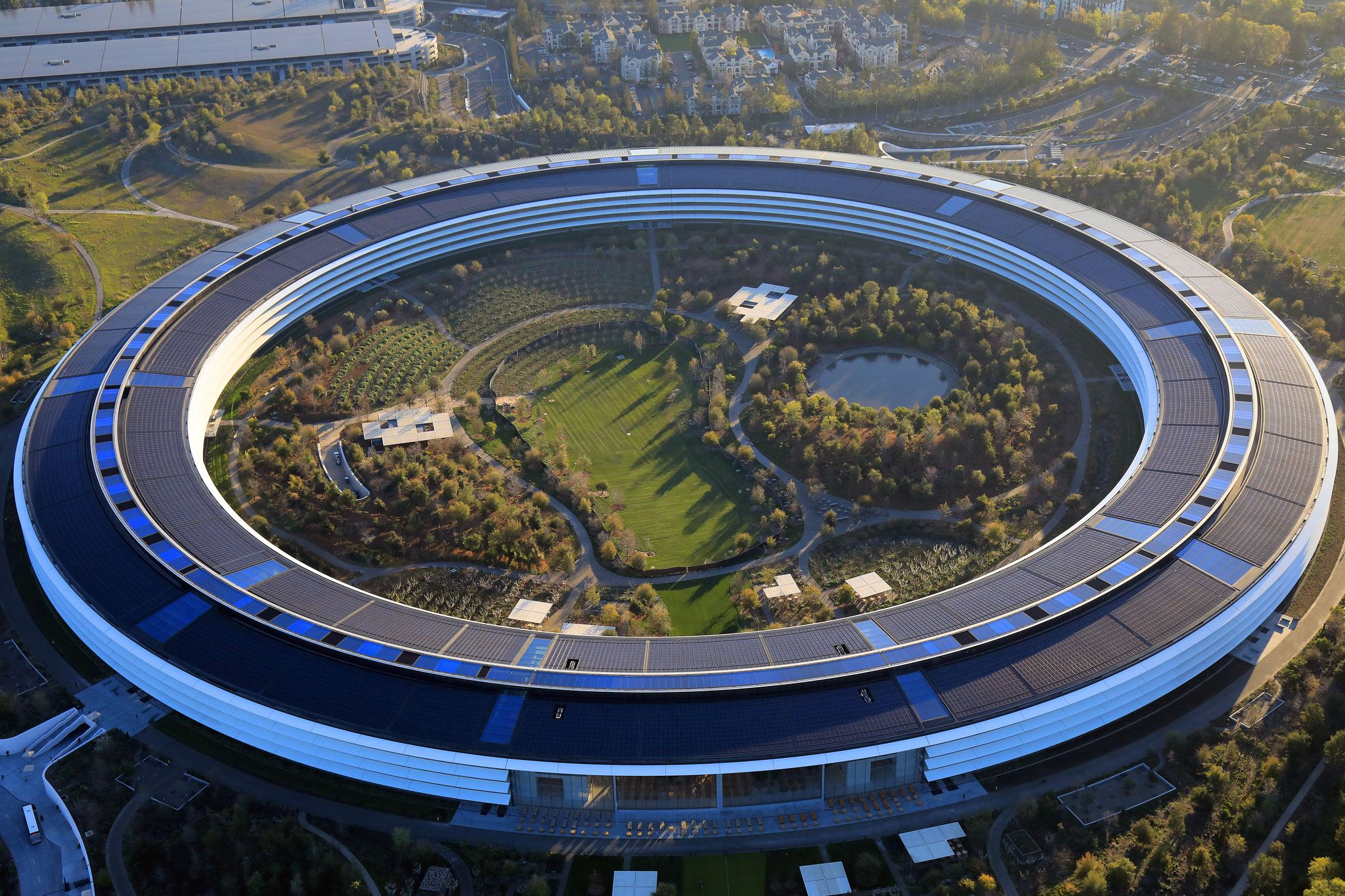 Apples headquarters in silicon valley engenheiro