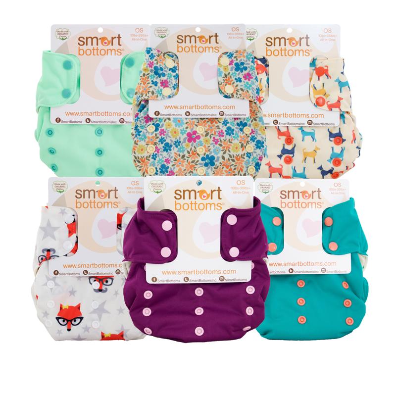 Smart Bottoms 6 Pack