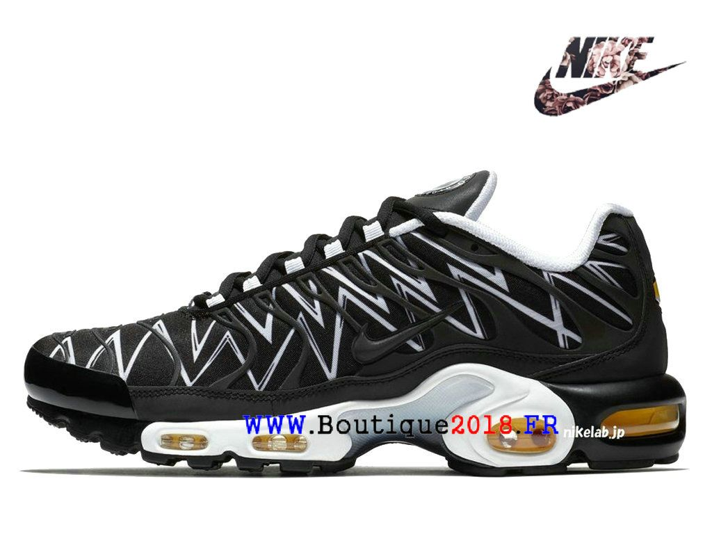 Nike Air Max Plus TN Tuned 1 La Requin Noir AJ6311-001 Chaussures ...