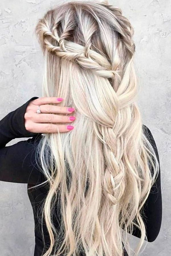 10 Beautiful Wet And Wavy Hairstyles For Long Hair